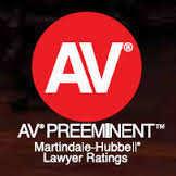 """""""AV"""" Rated 2012 Divorce Attorneys."""