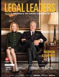 Arizona's Top Rated Lawyer as Seen in the Arizona Republic Newspaper.