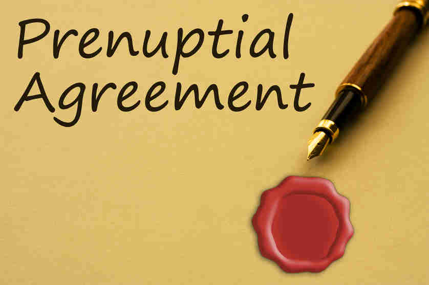 Prenuptial Agreements And Alimony In Az Hildebrand Law Pc