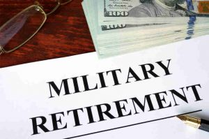 Division of Military Retirement Pay in a Divorce