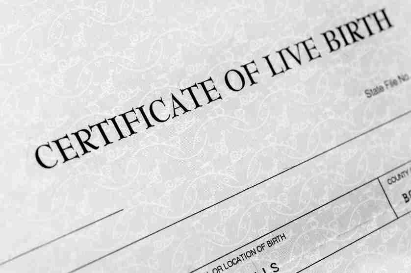 Father\'s Name on Birth Certificate in Arizona | Hildebrand Law, PC
