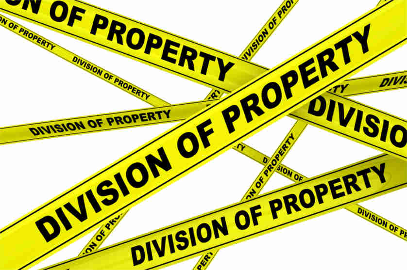 Division of Family Property and Alimony in Arizona