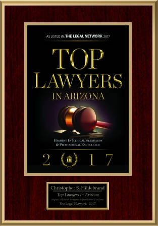 The Legal Network Top Lawyers in Arizona 2017