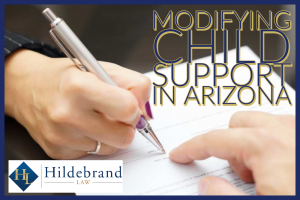 Modifying Child Support in Arizona