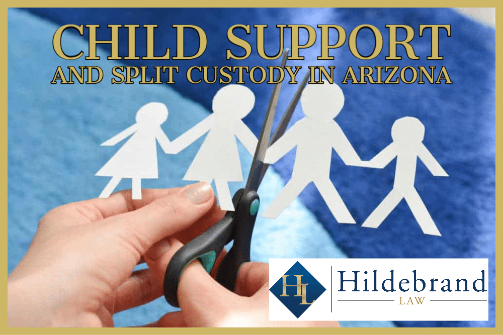 Child Support and Split Custody in Arizona