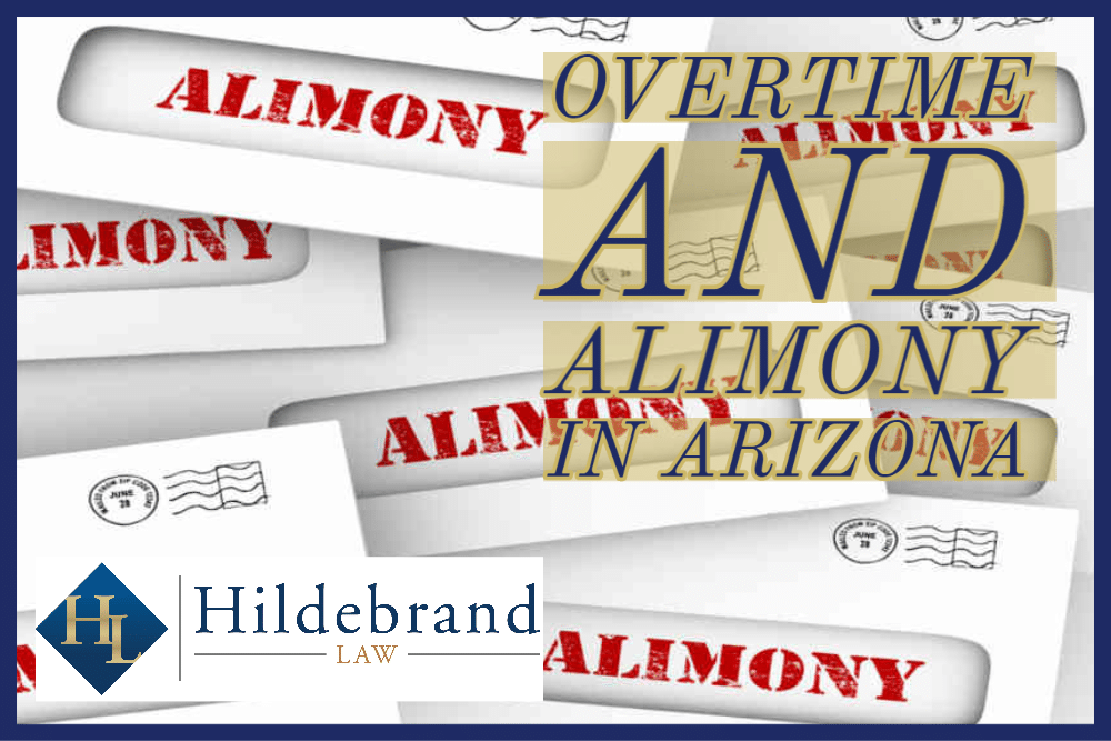 Overtime and Alimony in Arizona