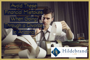 Financial Mistakes to Avoid When Going Through a Divorce