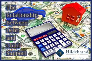 The relationship between debt and child support in arizona