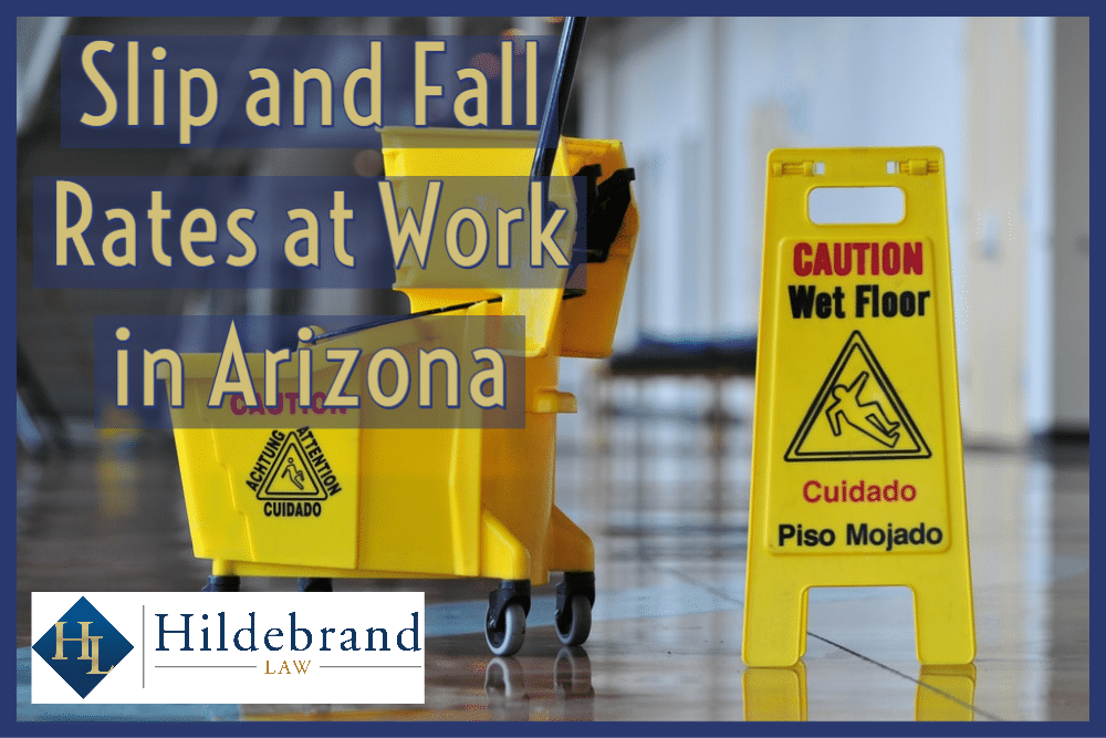 Slip and Fall Rates at Work in Arizona