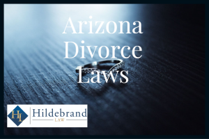 Process of Divorce in Arizona.