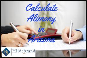 Calculate Alimony in Arizona
