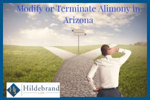 Modify or Terminate Alimony in Arizona.