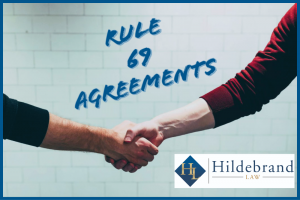 Hearing to Content a Rule 69 Agreement in Arizona